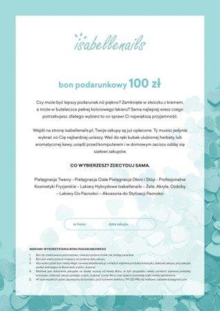 Bon podarunkowy Delicate Hearts IsabelleNails 100 zł