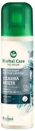 Herbal Care Dezodorant do stóp i butów czarna mięta 150ml