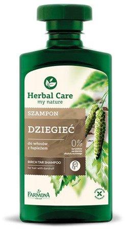 Herbal Care Szampon Dziegieć 330 ml