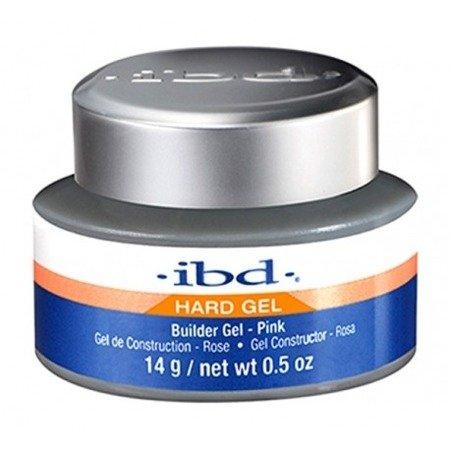IBD Hard Gel Builder Żel budujący 14 g Pink