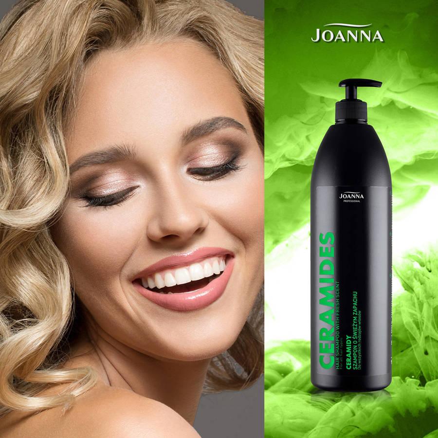 Joanna Szampon do włosów z ceramidami 1000 ml