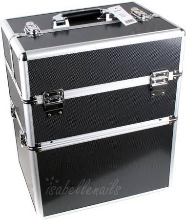 Kuferek kosmetyczny XL Black