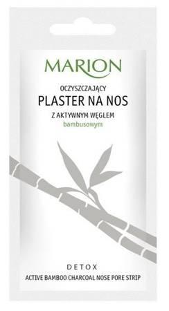 MARION Plastry na nos z węglem bambusowym