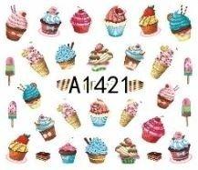 Naklejki wodne A1421