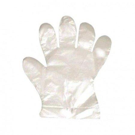 Rękawice foliowe jednorazowe 100 sztuk