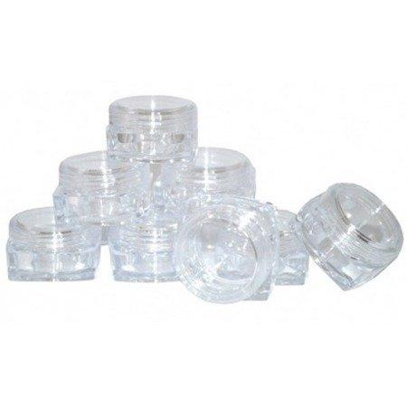 Słoiczki 5ml 5 szt. Krystaliczne