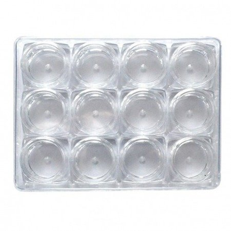 Słoiczki 5ml 50szt. Krystaliczne