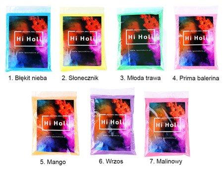 Zestaw Proszków Hi Holi 7 x 100 g