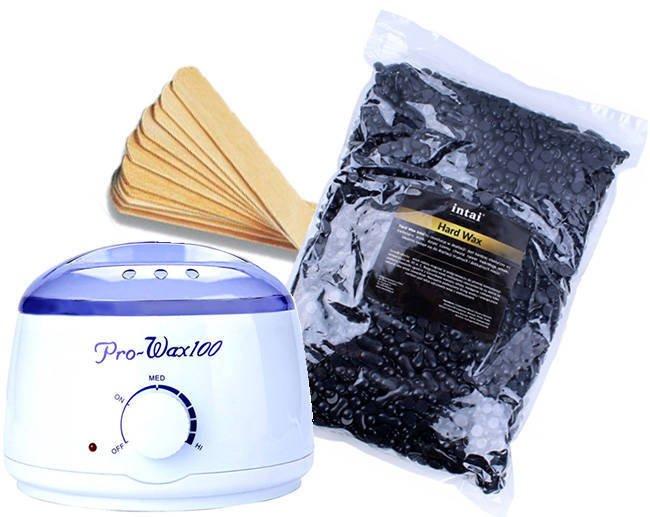 Zestaw podgrzewacz Pro-Wax 100 + wosk  INTAI w granulkach 100g