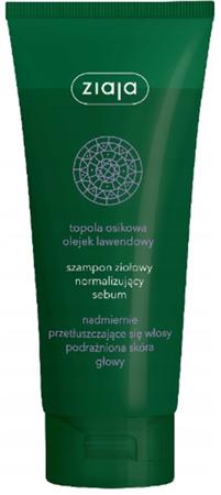 Ziaja szampon do włosów ziołowy topola osikowa 200 ml